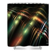 Spinal Canal Shower Curtain