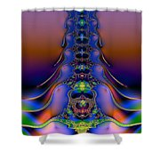 Spine Shower Curtain