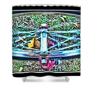 Spinning Round Shower Curtain