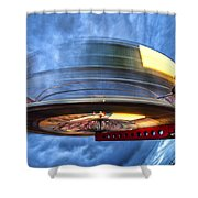 Spinning Up The Universe Shower Curtain