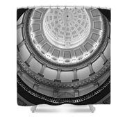 Spiral Dome Shower Curtain