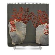 Spiral Hands Shower Curtain