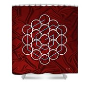 Spiral Of Evolution Expand Your Perception  Shower Curtain