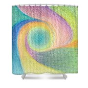 Spiral Of Life Shower Curtain