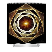 Spiral Scalar Shower Curtain