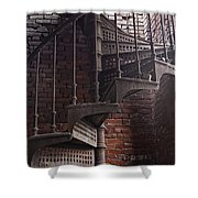 Spiral Staircase Depot Shower Curtain