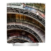 Spiral Staircase No4 Shower Curtain