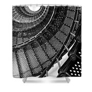 Spiral Steps Shower Curtain