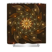 Spiral Wings Shower Curtain