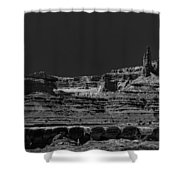 Spires Shower Curtain