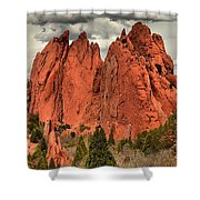 Spires To The Sky Shower Curtain