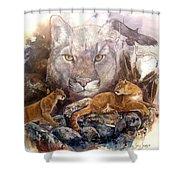 Spirit Cat Shower Curtain
