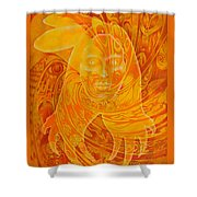 Spirit Fire Shower Curtain