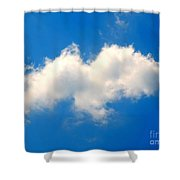 Spirit In The Sky Shower Curtain