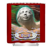 Spirit Mother Shower Curtain