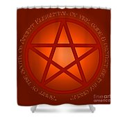 Spirit Of Fire Shower Curtain