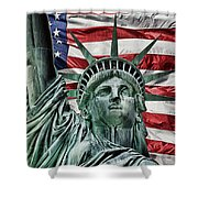 Spirit Of Freedom Shower Curtain