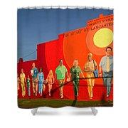 Spirit Of Lancaster South Carolina Shower Curtain