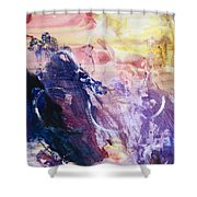 Spirit Of Life - Abstract 1 Shower Curtain