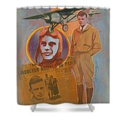 Lindbergh, Spirit Of St. Louis Shower Curtain