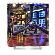 Spirit Of St.louis Engine Shower Curtain