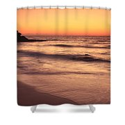Spirit Of The Maya Seascape Shower Curtain