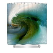 Spirit Of The White Dolphin Shower Curtain