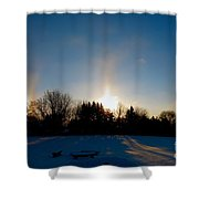 Spirits Light Shower Curtain