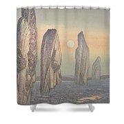 Spirits Of Callanish Isle Of Lewis Shower Curtain
