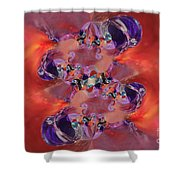 Spiritual Dna Shower Curtain