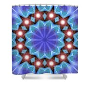 Spiritual Pulsar K1 Shower Curtain
