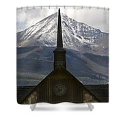 Spiritual Skies Shower Curtain