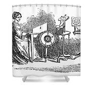 Spiritualism, 1855 Shower Curtain