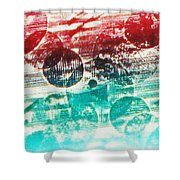 Spirtuality Of The Planet Shower Curtain by Yael VanGruber