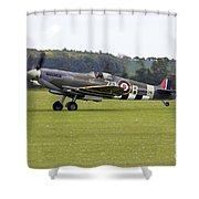 Spitfire Mk Ixb Shower Curtain