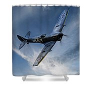 Spitfire Pass Shower Curtain