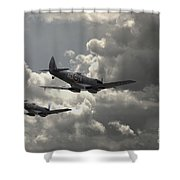 Spitfire Wingman Shower Curtain
