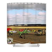 Spitfire's Galore Shower Curtain