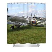 Spitfires Shower Curtain