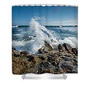 Splash In Motion  Shower Curtain