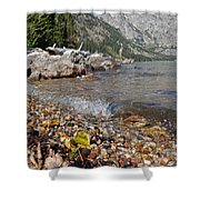 Splash Lake Jenny Shower Curtain