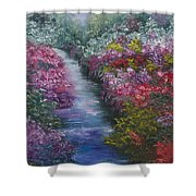 Splash Of Spring Shower Curtain