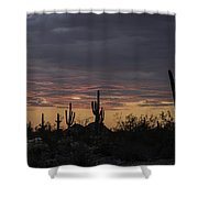 Splender At Sunset Shower Curtain