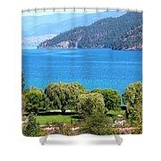 Splendid Kalamalka Lake Shower Curtain