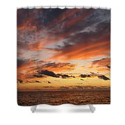 Splendor In The Skies Shower Curtain