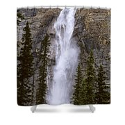Splendor Of Takakkaw Falls Shower Curtain