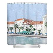 Split Croatia Adriatic Coast Shower Curtain