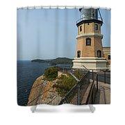 Split Rock Lighthouse 100 Shower Curtain