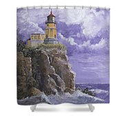 Split Rock Magic Shower Curtain