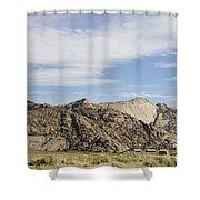 Split Rock Wyoming Shower Curtain